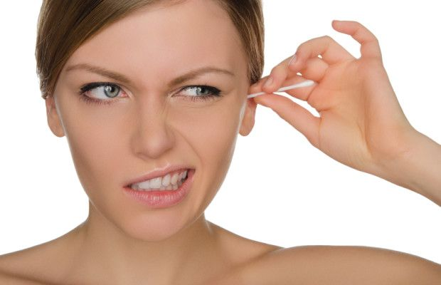 cotton swab to clean your ears