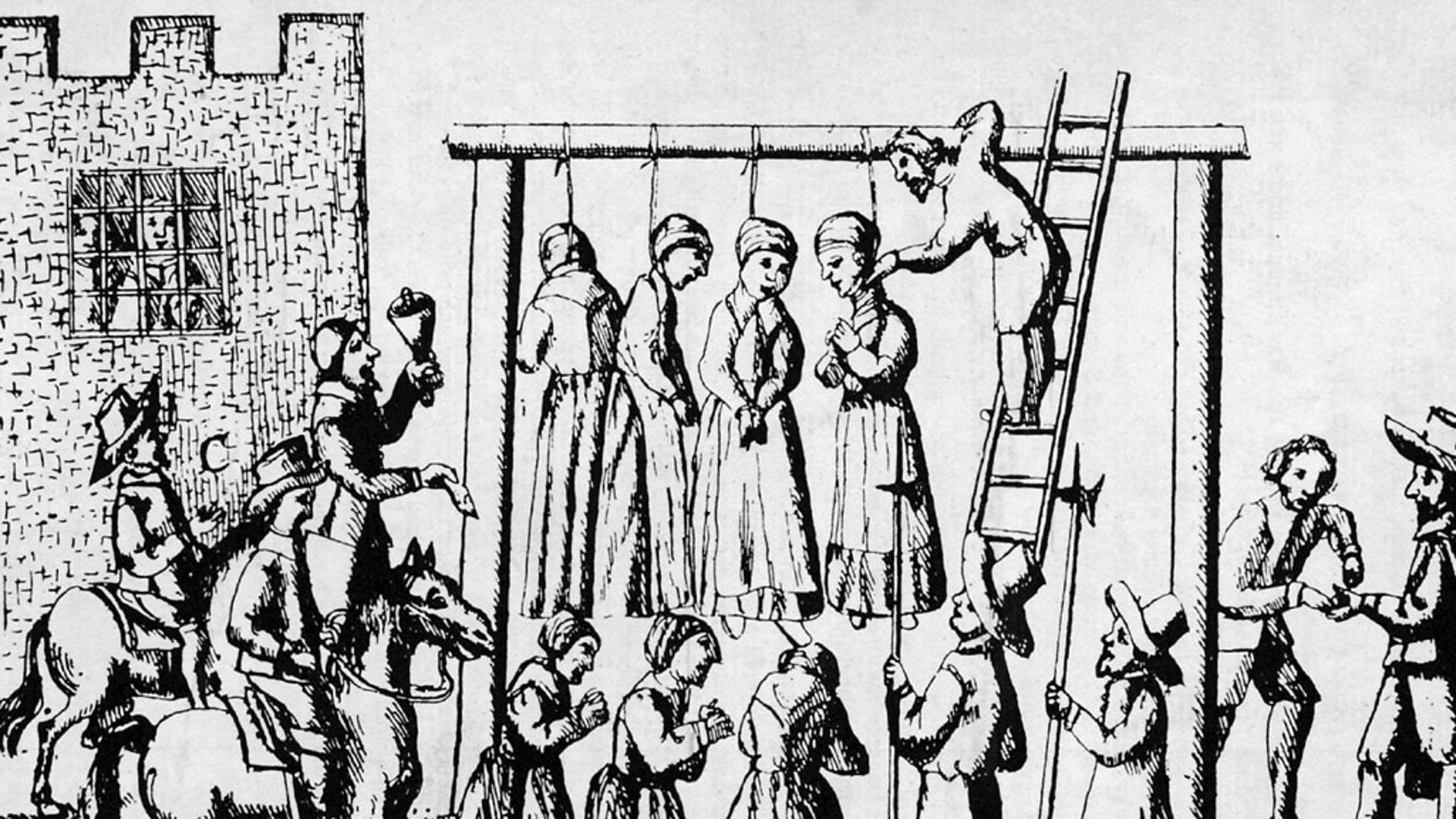 witchcraft and witch hunting stories