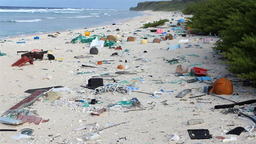 henderson island dirty place