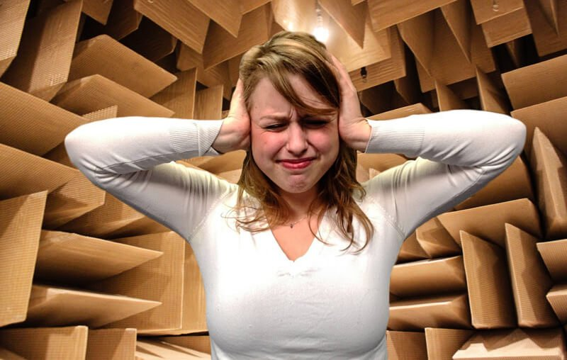 applications of the quietest room