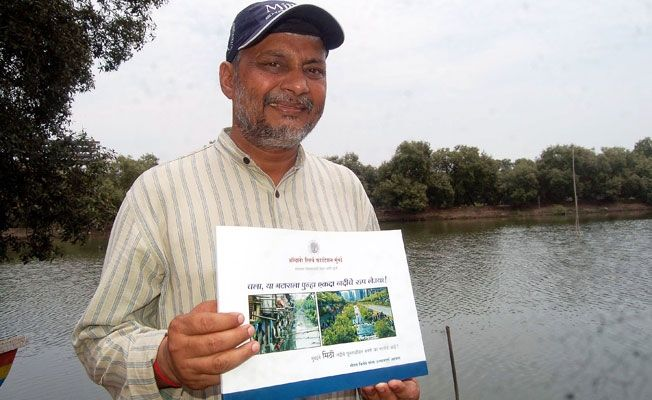 rajendra singh waterman of india