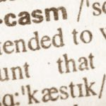 origin of sarcasm