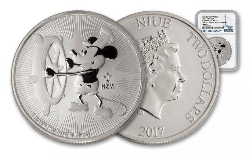 Niue Mickey Mouse coin
