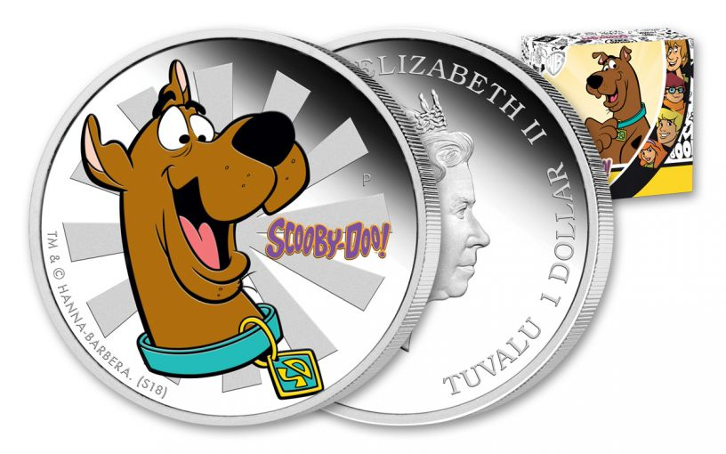 Scooby Doo coin