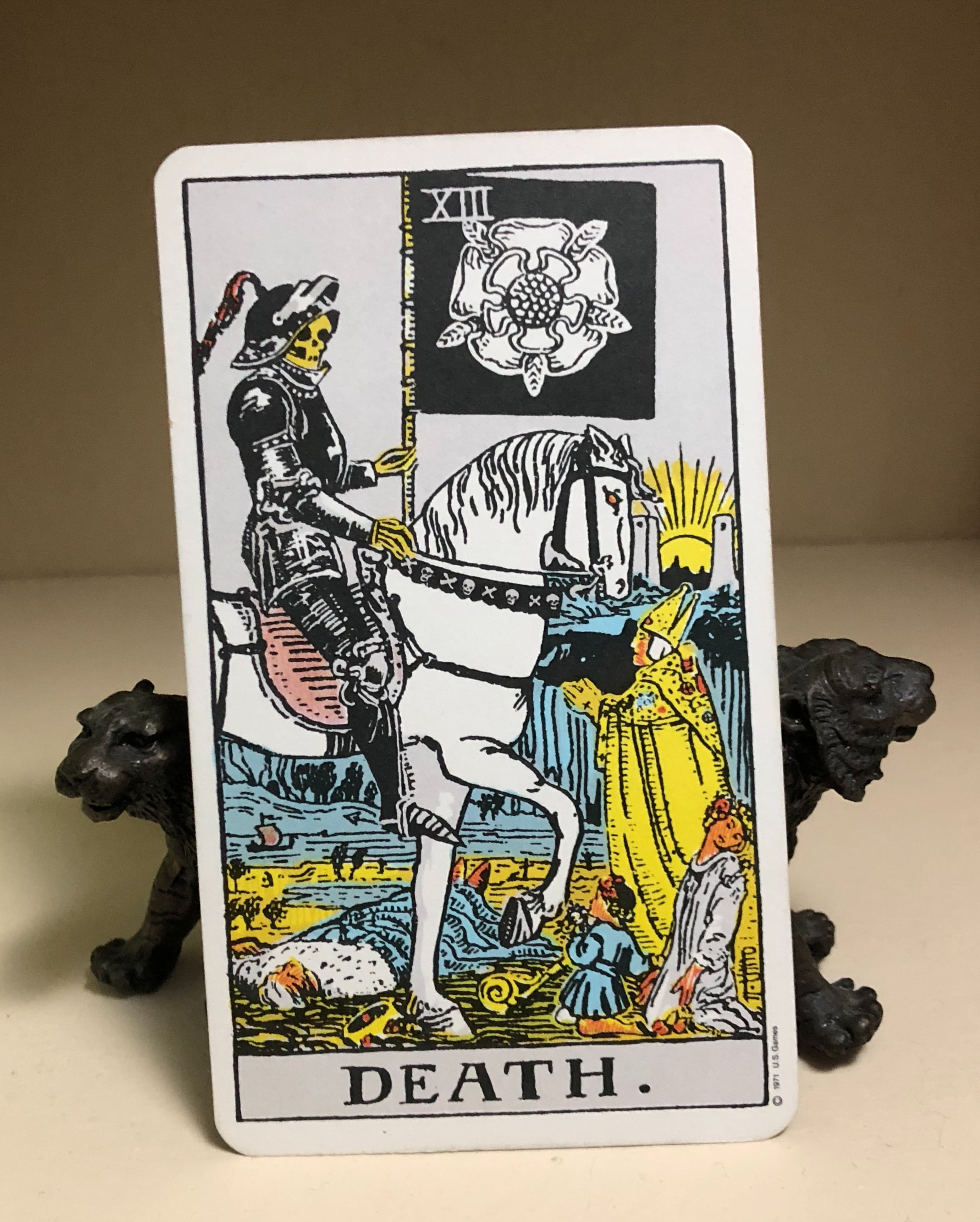 Number 13 Tarot Death Card