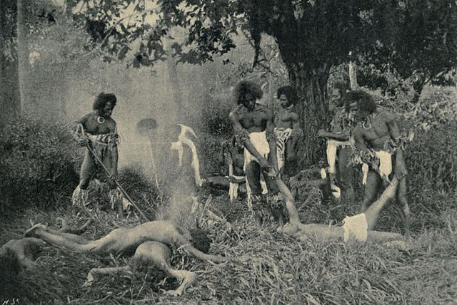 cannibalism in The Naihehe Caves-Sigatoka, Fiji--Procaffenation