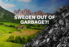 Sweden is running out of waste