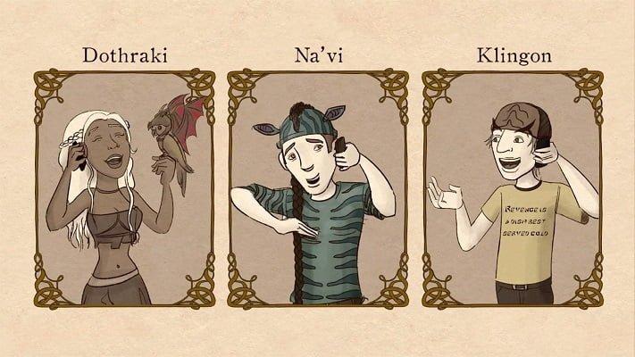 popular conlangs