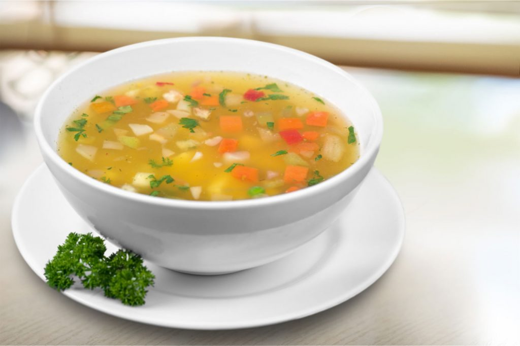 vegetable broth