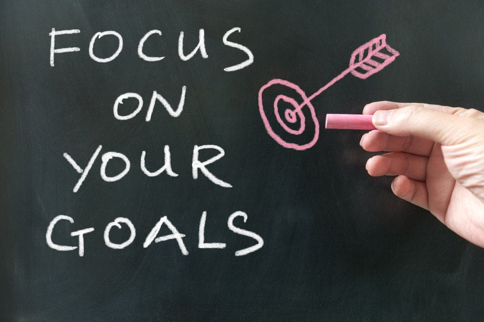 Focus on your goals, not on the results