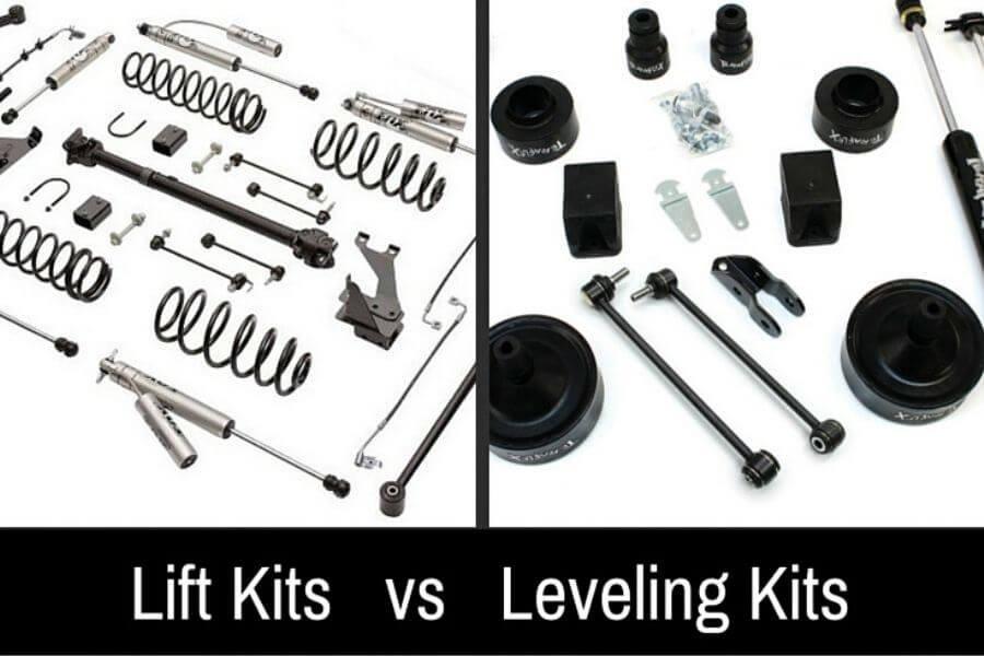 Lift Kit vs. Leveling Kit